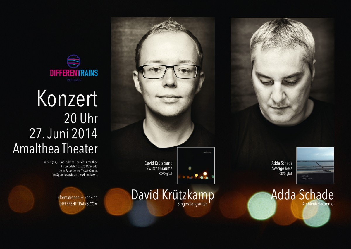 David Krützkamp & Adda Schade @ Amalthea Theater