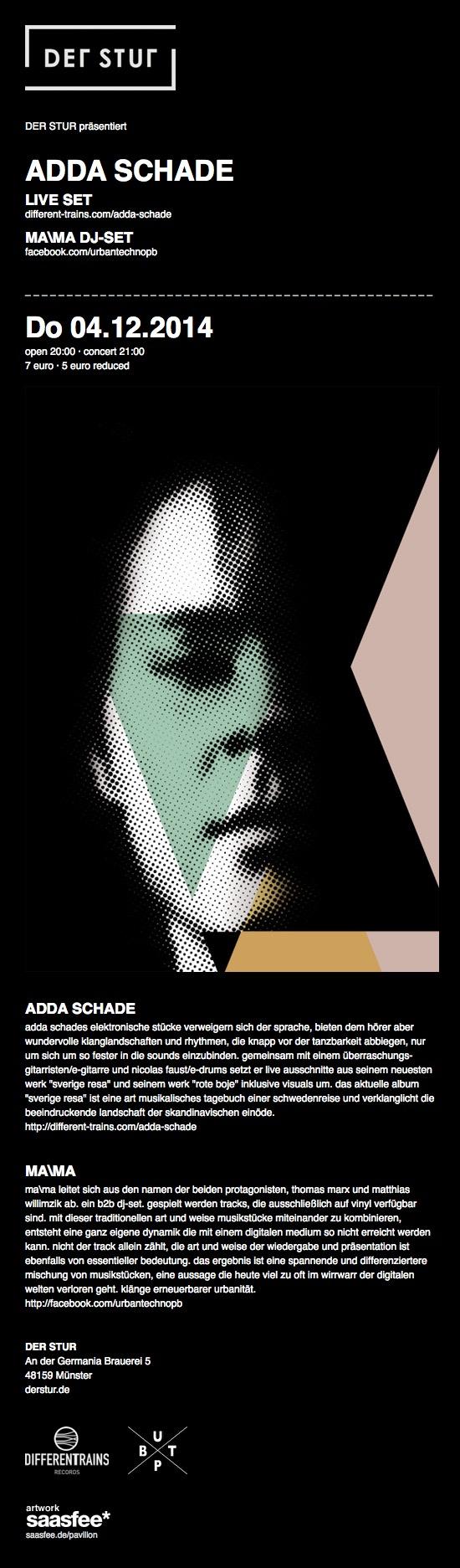 DER STUR – Adda Schade